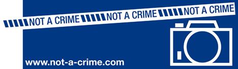 not a crime not a terrorist