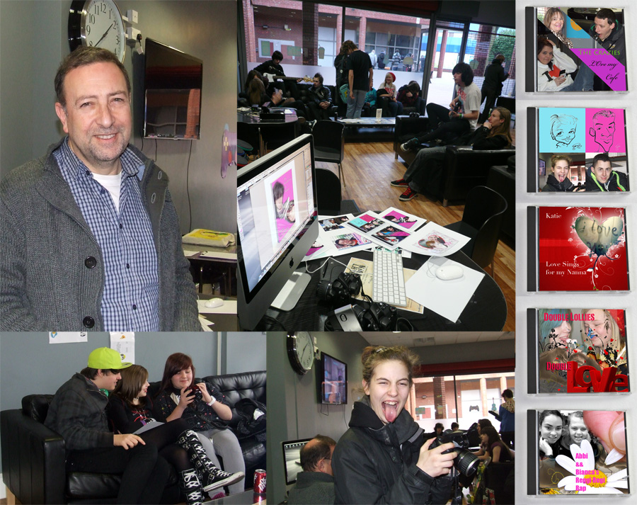 warrington youth cafe workshop montage - Ed Horwich